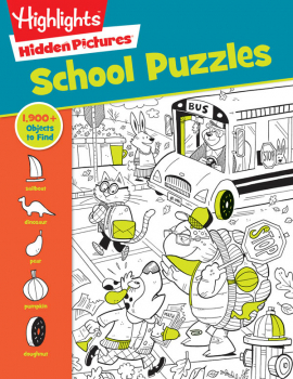 School Puzzles (Highlights Hidden Pictures)