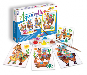 Aquarellum Junior - Llamas