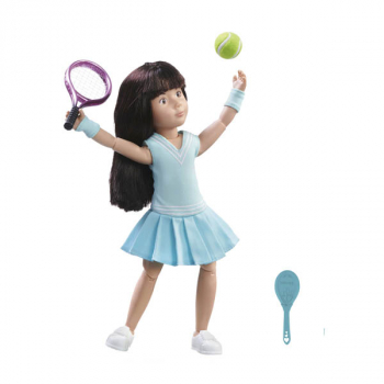Luna Tennis Practice (includes doll)