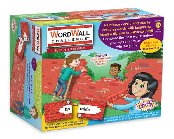 Mind Sparks WordWall Challenge Card Game - Blends & Digraphs