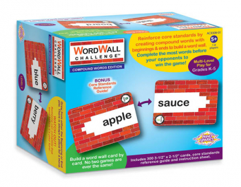 Mind Sparks WordWall Challenge Card Game - Compound Words