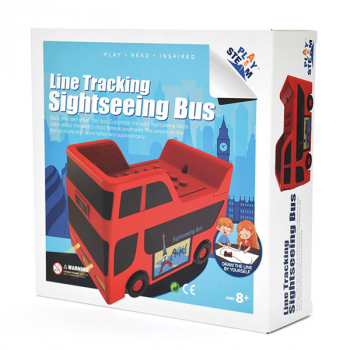 Line Tracking Sightseeing Bus