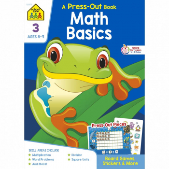 Math Basics 3 (Press-Out Book)