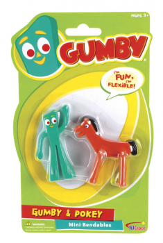 Gumby & Pokey Mini Bendables