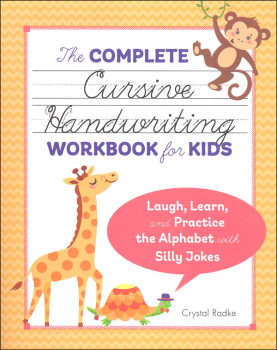 Complete Cursive Handwriting Workbook for Kids