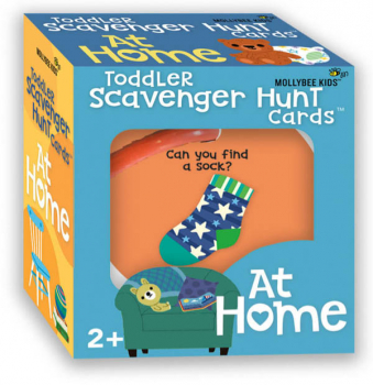 At Home Toddler Scavenger Hunt Cards