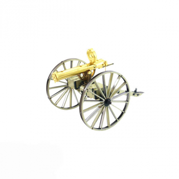Wild West Gatling Gun (Metal Earth 3D Model)