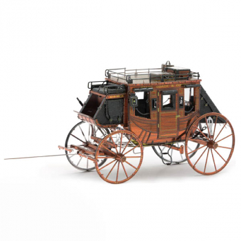 Wild West Stagecoach (Metal Earth 3D Model)