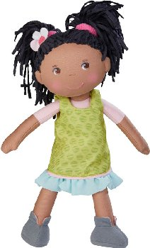 "Cari - 12"" Cloth Doll (Lilli and Friends)"