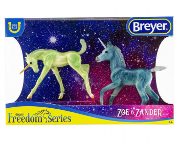 Zoe and Zander - Unicorn Foals (Freedom Series)