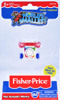 World's Smallest Fisher Price Chatter Telephone