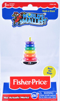 World's Smallest Fisher Price Rock-a-Stack