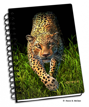 "Leopard 3D Notebook 4"" x 6"""