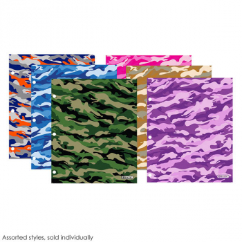 Two Pockets Portfolio - Camouflage (assorted style)