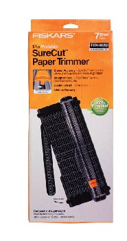 Fiskars Recycled Cutline Portable Paper Trimmer 12""
