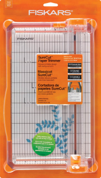 Fiskars SureCut Deluxe Craft Paper Trimmer 12""