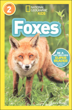 Foxes (National Geographic Readers Level 2)