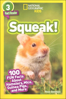 Squeak! (National Geographic Readers Level 3)