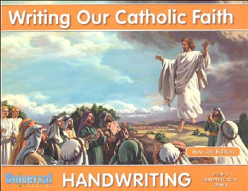 Beginning Cursive Writing - Grade 3 (Writing Our Catholic Faith Handwriting Series)