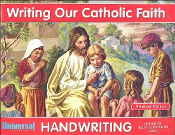 Beginning Manuscript Writing - Grade K (Writing Our Catholic Faith Handwriting Series)
