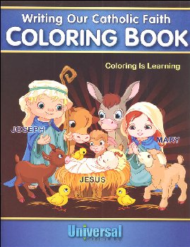 Coloring is Learning (Writing Our Catholic Faith Series)