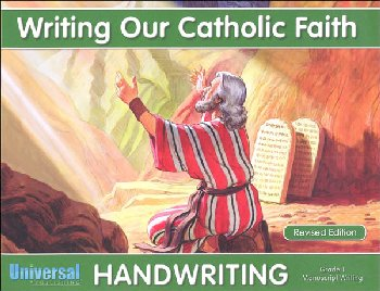 Manuscript Writing - Grade 1 (Writing Our Catholic Faith Handwriting Series)