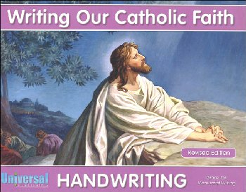 Manuscript Writing - Grade 2M (Writing Our Catholic Faith Handwriting Series)