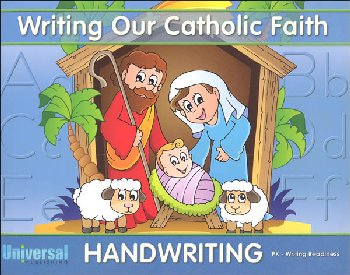 Writing Readiness - Grade PK (Writing Our Catholic Faith Handwriting Series)