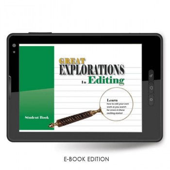 Great Explorations in Editing Student e-book