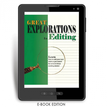 Great Explorations in Editing Teacher e-book
