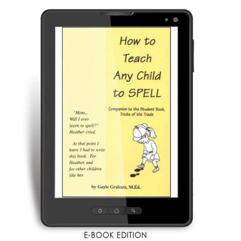 How to Teach Any Child to Spell Teacher e-book