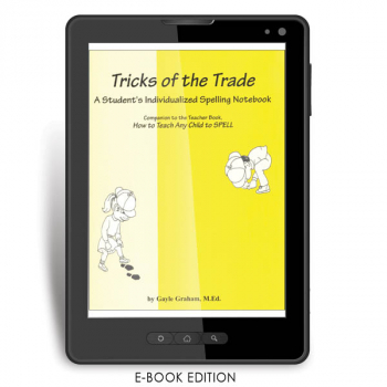 Spelling Tricks of the Trade Student e-book