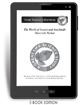World of Insects and Arachnids Materials Packet e-book