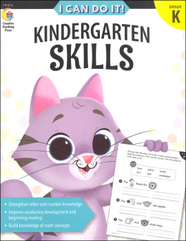 I Can Do It! Kindergarten Skills