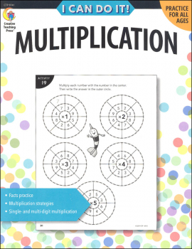 I Can Do It! Multiplication