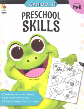 I Can Do It! Preschool Skills