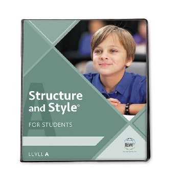 Structure and Style for Students: Level A Binder