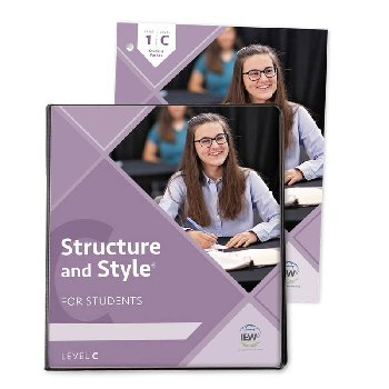 Structure and Style for Students: Year 1 Level C Binder & Student Packet