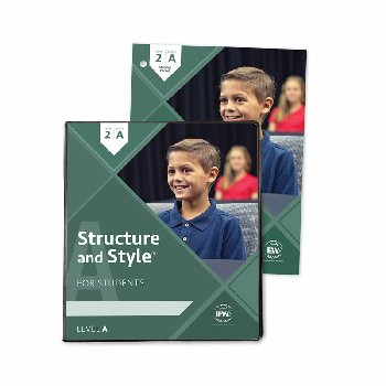 Structure and Style for Students: Year 2 Level A Binder & Student Packet