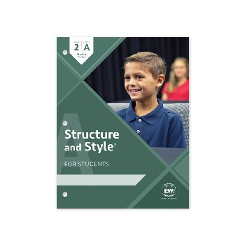Structure and Style for Students: Year 2 Level A Student Packet only