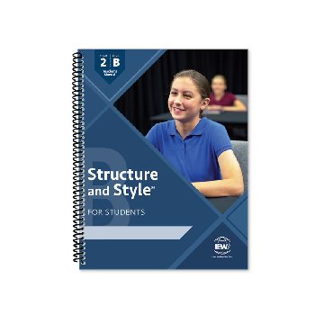 Structure and Style for Students: Year 2 Level B Teacher's Manual only