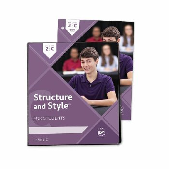 Structure and Style for Students: Year 2 Level C Binder & Student Packet