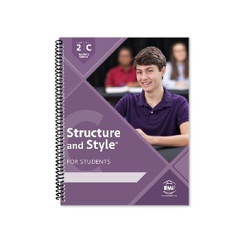 Structure and Style for Students: Year 2 Level C Teacher's Manual only