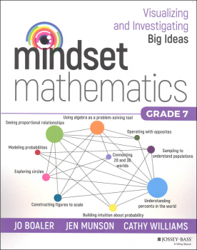Mindset Mathematics: Visualizing & Investigating Big Ideas Grade 7