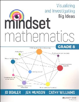 Mindset Mathematics: Visualizing & Investigating Big Ideas Grade 8