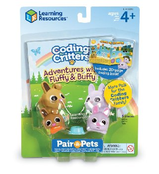 Coding Critters Pair-A-Pets: Fluffy & Buffy (Bunnies)