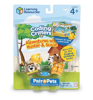 Coding Critters Pair-A-Pets: Hunter & Scout (Puppies)