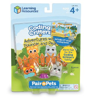 Coding Critters Pair-A-Pets: Pouncer & Pearl (Kittens)