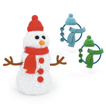 Playfoam Build-A-Snowman - Assorted