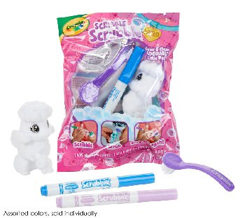 Crayola Scribble Scrubbie Pets! Single Pet (assorted)
